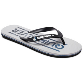 Quiksilver Molokai Wordmark Men Sandals black/grey/grey